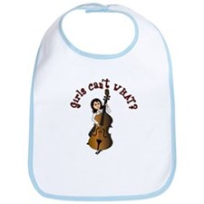 String Upright Double Bass Guitar Bib