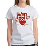 Rodney Lassoed My Heart Women's T-Shirt