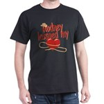 Rodney Lassoed My Heart Dark T-Shirt