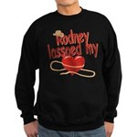Rodney Lassoed My Heart Sweatshirt (dark)