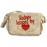 Rodney Lassoed My Heart Messenger Bag