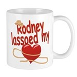 Rodney Lassoed My Heart Mug