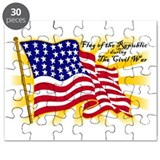 Civil War Flags Puzzle