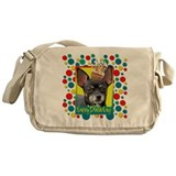 Birthday Cupcake - Chihuahua Messenger Bag