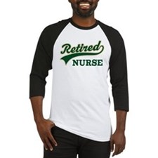 Retired Nurse Gift Baseball Jersey