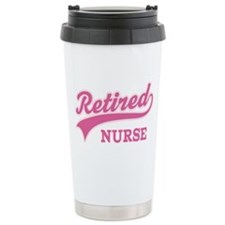 Retired Nurse Gift Ceramic Travel Mug