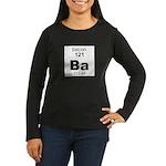 Bacon Element Women's Long Sleeve Dark T-Shirt