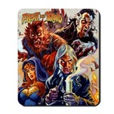 Flesh and Blood Mousepad