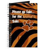 Tiger Print Journal