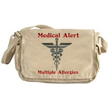 Medical Alert Multiple Drug A Messenger Bag