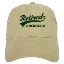 Retired Engineer Gift Baseball Cap