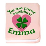 Emma Personalized baby blanket