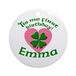 Emma Personalized Ornament (Round)