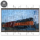Unique Trains Puzzle