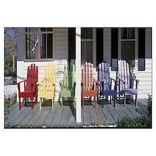Adirondack Chairs Porch Plymouth VT