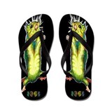 Mouse black Flip Flops