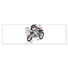 Unique Dirt biker Bumper Sticker