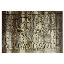 Cambodia, Angkor Wat, frieze