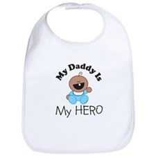 My Daddy Is My HERO (boy 1) Bib