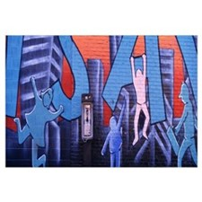 New York City, mural