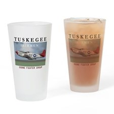 Funny Tuskegee Drinking Glass
