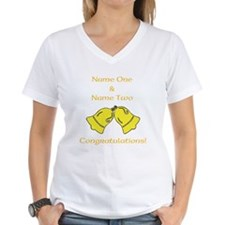 Wedding Bells. Custom Text. Shirt