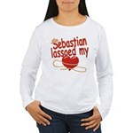 Sebastian Lassoed My Heart Women's Long Sleeve T-S