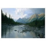 Kennicott River Wrangell St Elias National Park AK