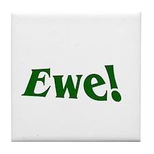Ewe Tile Coaster