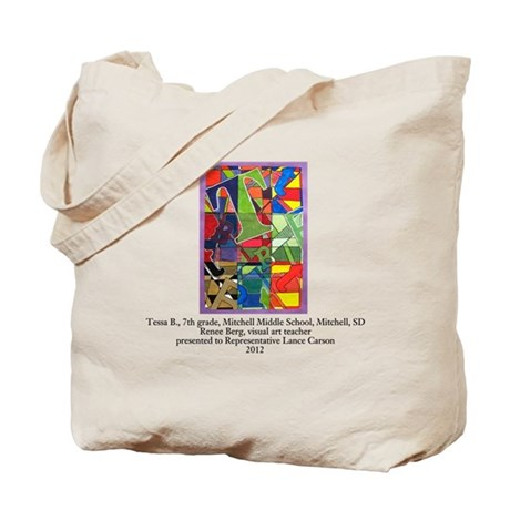 Tessa B, Mitchell, Tote Bag