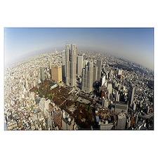 Aerial Tokyo Japan