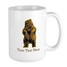 Bear. Custom Text. Mug