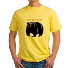 Big Bear with Custom Text. T