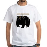 Big Bear with Custom Text. Shirt