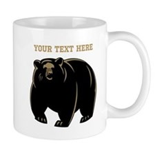 Big Bear with Custom Text. Mug