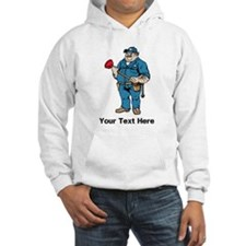 Plumber. Your Text. Hoodie