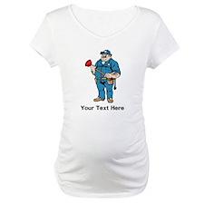 Plumber. Your Text. Shirt