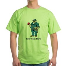 Plumber. Your Text. T-Shirt