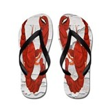 Red Lobster Flip Flops