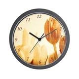 Tulip Design Wall Clock