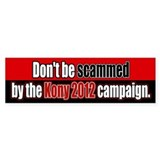 Anti Kony 2012 Fraud Bumper Bumper Sticker
