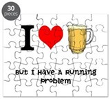 Cute I love to run Puzzle