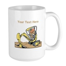Digger and Text. Mug