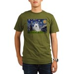 Starry-Am. Eskimo Dog Organic Men's T-Shirt (dark)