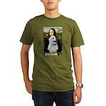 MonaLis-Anatolian Shep1 Organic Men's T-Shirt (dar