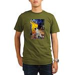 Cafe-AnatolianShep2 Organic Men's T-Shirt (dark)
