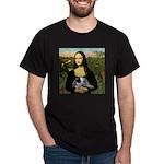 MonaLisa-AussieCattle Pup Dark T-Shirt
