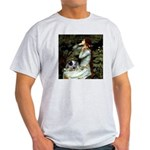 Ophelia - Aussie Cattle Pup Light T-Shirt