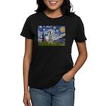 Starry-AussieCattlePup2 Women's Dark T-Shirt