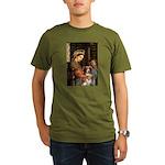 Madonna-Aussie Shep #4 Organic Men's T-Shirt (dark